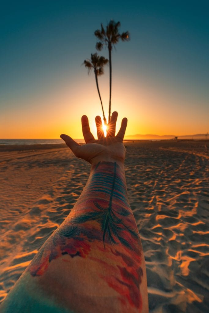 Inflict Positivity In Heart Through Tree Drawing- Best Tattoo Ideas